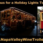 Holiday Lights Tours aboard the NapaValleyWineTrolley.com