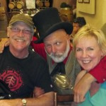 2012-09-27-Larry & Chris Hayes of Washington State at Deerfield Ranch Winery