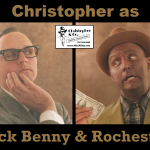 CDL as Benny & Rochester
