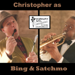 CDL as Bing & Satchmo