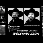 CDL as Wolfman Jack